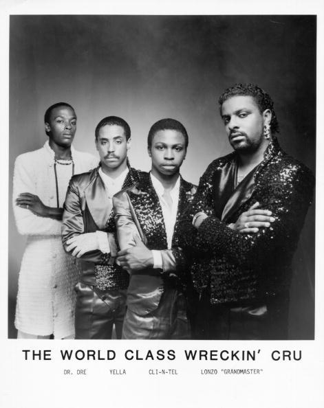 Dr. Dre with The World Class Wreckin Cru