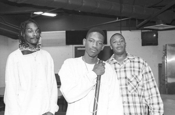 Dr. Dre with Snoop & Kurupt