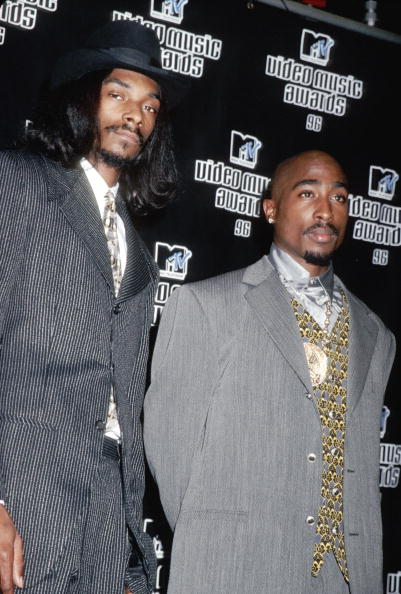 Tupac with Snoop