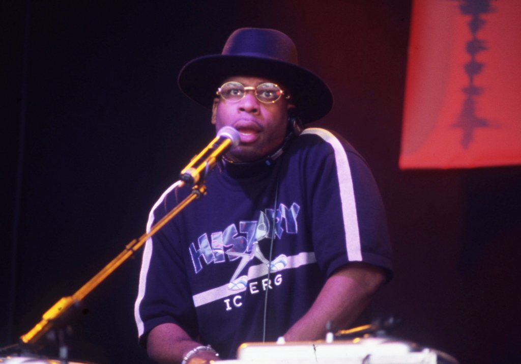Jam Master Jay Playing With Run DMC Finsbury Park (Respect Festival) London 2001