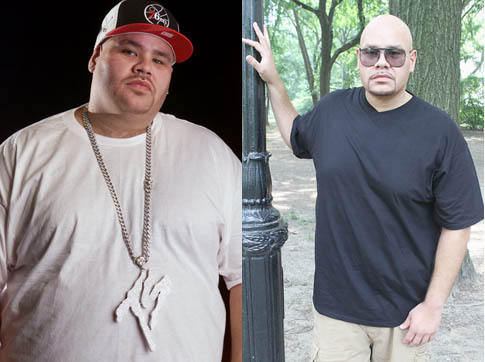Fat Joe before and after he lost 100 lbs