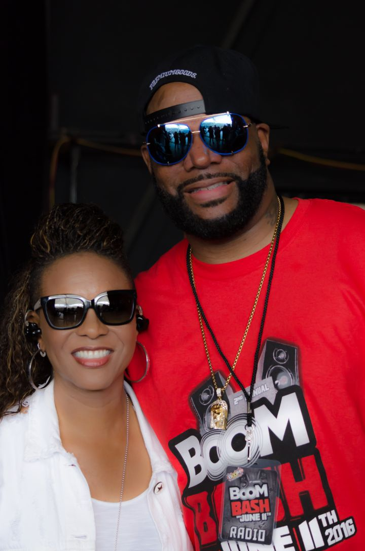 MC Lyte and Ed Lover