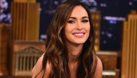 Megan Fox Visits 'The Tonight Show Starring Jimmy Fallon'