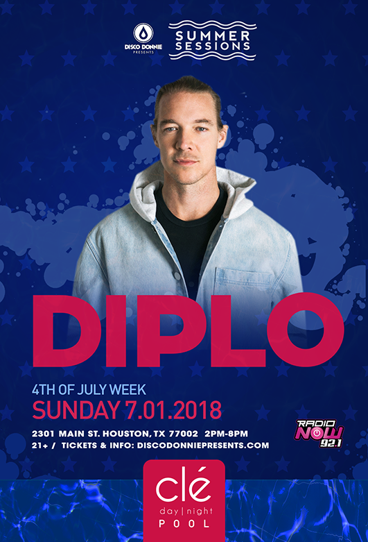 Diplo Cle Day Night Pool Party