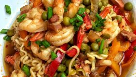 Quick Seafood Ramen