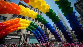 US-GAY PRIDE PARADE