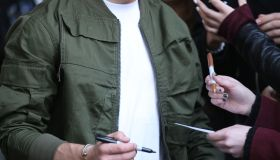 Nick Jonas leaving BBC Radio 1, London UK.