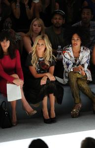 Luca Luca - Front Row - Spring 2012 Mercedes-Benz Fashion Week