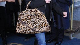 Celebrity Sightings In New York City - January 5, 2011
