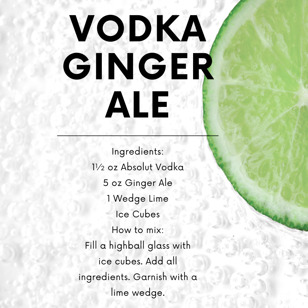 Vodka Ginger Ale Recipe