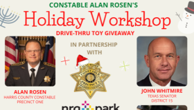 Constable Alan Rosen's Holiday Workshop Drive-Thru Toy Giveaway