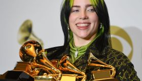US-ENTERTAINMENT-MUSIC-GRAMMY-PRESS ROOM