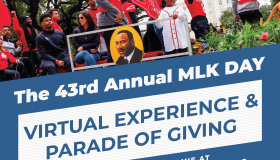 2021 Virtual MLK Day Parade Flyer