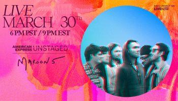 Maroon 5 Virtual Concert Giveaway
